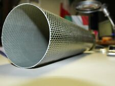 Sistema di scarico moto fusto in fibra carbonio kevlar 3k int60 est63 lung. 330