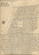 Bronxville East Chester Tuckahoe NY  1910  Maps with Landowners Names Shown