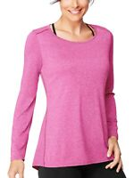 Hanes Sport Women's Performance Long-Sleeve Tunic, Fresh Berry, Size: Small