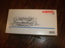 Marklin 3032  Leerkarton