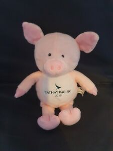 Collectible Cathay Pacific Pig Soft Toy 2019 - Year of the Pig. Plush