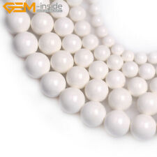 "Wholesale Natural White Tridacna Shell Jewelry Making Loose Beads Strand 15"""