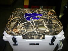 Yeti 35 qt & Others Cooler Cushion Camo Kansas State Wildcats New Free Shipping