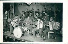 World War II Chine Theatre Orchestra Plays Original News Service Photo