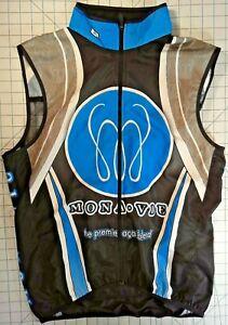 Sugoi Large Mona-Vie Cycling Vest - Sleeveless Vented Back - Full Zip