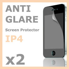 2 x Anti Glare LCD Matte Screen Protector Guard Film for Apple iPhone 4S 4G 4