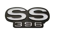 "USA-Made! 1966 Chevelle Grille Emblem ""SS 396"" NEW Trim Parts!"