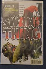 Swamp Thing v4 issue 1 from DC Vertigo Comics by Andy Diggle & Enrique Breccia.