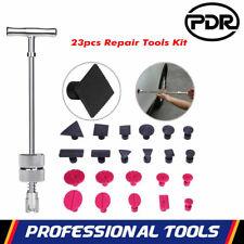 23x Car Body Repair Kit Slide Hammer Puller Tab PDR Paintless Dent Removal Tools