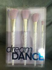 Cvs Beauty 360 Dream Dance 4 Piece Makeup Brush Set Purple & White - New In Box