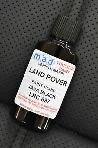 LAND ROVER JAVA BLACK LRC 697 PAINT TOUCH UP KIT 30ML DISCOVERY FREELANDER