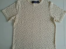 Mountain Lake Casual Top/Blouse Pull-Over Yellow Sz L SS Cotton/Polyester EUC