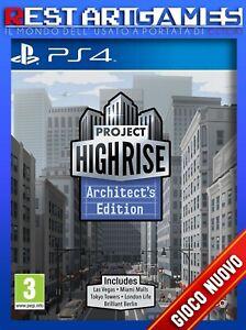 PROJECT HIGHRISE ARCHITECT'S EDITION - PS4 - NUOVO DA ESPOSIZIONE