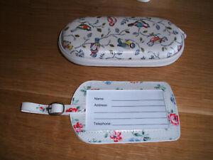Cath kidston glasses case plus luggage tag