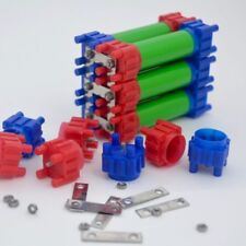 HALF Vruzend DIY Solderless 18650 Battery Holders. No Spot Welding. Colour Coded