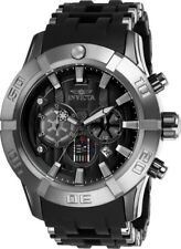 Invicta 26548 Star Wars Men's Chronograph 50mm Black-Tone Steel Black Dial Watch