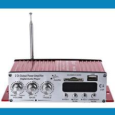 50w Dc 12V Digital Motorcycle Car Amplifier Mini Hi-Fi Stereo audio Fm Sd Card