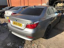 BMW 5-SERIES E60 2005 525i 530d  525d 520 535d PETROL BREAKING FOR SPARES PARTS
