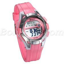Multifunction Student Waterproof Boys Girls Digital Backlight LED Wrist Watch