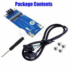 Mini PCI-E to USB Adapter w/ SIM card Slot for WWAN/LTE Module Vertical