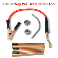 Car Battery Pure Copper Joint Repair Head Clamp Mold Welding Torch Carbon Rod