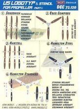 KORA Decals 1/72 U.S. PROPELLER LOGO & STENCILS Part 1