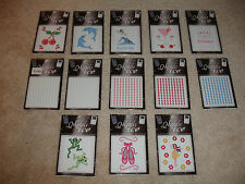 Lot of 13 New Mobile Ice Sticker Decals for Cell Phones,Cameras,Ipods,Etc...