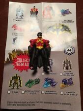 "BATMAN UNLIMITED MIGHTY MINIS SERIES 3 Red Robin 2"" FIGURE LOOSE UNUSED"