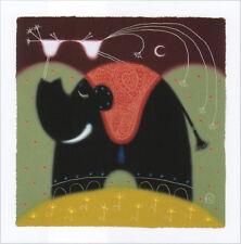 Govinder With Love Poster Kunstdruck Kunstdrucke Bild Elefant Bilder 60 x 60 cm