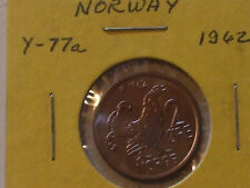 New listing 1962 Norway 2 Ore Moor Hen Vgc Free S& H L@K!