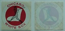 CHICAGO WHITE SOX 1960s STICKERS (2)