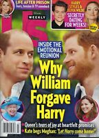 US Weekly January 18th 2021   Why William forgave Harry