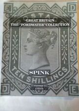 """Spink Great Britain the """"Fordwater"""" collection auction catalogue. London 2012"""