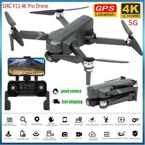 SJRC F11PRO GPS Foldable Brushless RC Drone 4K 5G Wifi FPV HD Camera Quadcopter