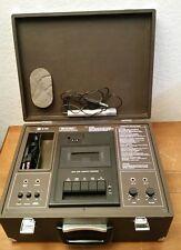 Vintage Sharp AV-2000 Cassette Tape Recorder w/ Carry Case & built in Speakers
