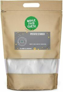 Wholefood Earth Potato Starch - GMO Free - Vegan - Dairy Free - No Added Sugar,