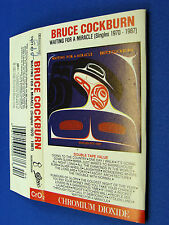 BRUCE COCKBURN - Waiting For A Miracle (Singles 1970 - 1987) VG++ CASSETTE
