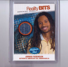American Idol FINALIST ANWAR ROBINSON Fleer Reality Bits Insert SEASON 4 CARD