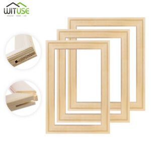 Leinwanddrucke Rahmen Keilrahmen Bar Ölgemälde DIY Montage Holzstreifen Kit 1X