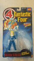 NEW MISLABEL FANTASTIC 4 FOUR SILVER SURFER INVISIBLE WOMAN ACTION FIGURE TOYBIZ