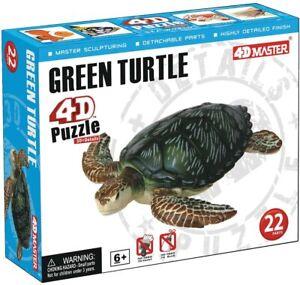 4D Master Sea Turtle Model Puzzle (22 Piece)