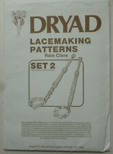 Dryad Lacemaking Patterns Set 2 – Bedfordshire Style Compiled by Raie Clare