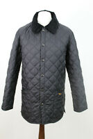 BARBOUR Black Quilted Jacket Size S AV