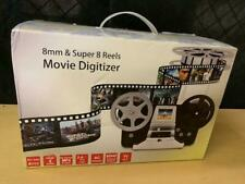 8 mm & Super 8 Reels Movie Digitizer Mega 5 pixels 32GB SD card New in Box