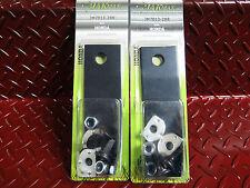 "2 x set 8 blade and bolt Honda 21"" blades HRU 214 HRU 215 HRU216 lawnmower"