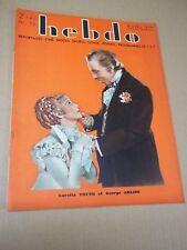 "REVUE ""HEBDO - no 55"" LORETTA YOUNG & G. ARLISS (1934) J. CRAWFORD / G. GARBO..."