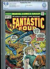 Fantastic Four #141 CBCS 9.0 (1973) Annihilus White Pages Not CGC