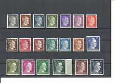 German Reich, 1941 michelnrn: 781 - 798 **/*/O, Mixed, catalogue value £ 9,00