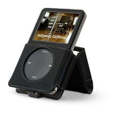 BELKIN Leather Kickstand Case for 6G 7G iPOD Classic 160GB 120GB 80GB Black 5G