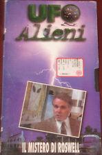"""Videocassetta/VHS """" UFO ALIENI IL MISTERO DI ROSWELL """" cod. H 40695191"""